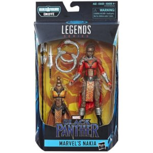 Boneco Marvel Legends Build a Figure Nakia Ucm Hasbro E1562