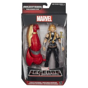 Boneco Marvel Legends Build a Figure Valkyrie Hasbro B0438
