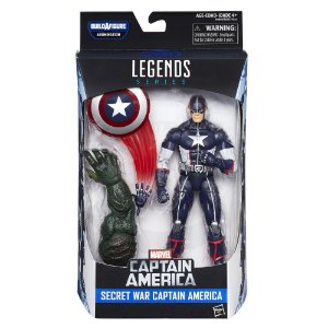Boneco Marvel Legends Build a Figure Captain America B6355