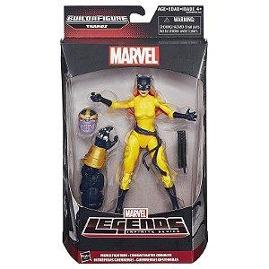 Boneco Marvel Legends Build a Figure Hellcat HQ Hasbro B0438
