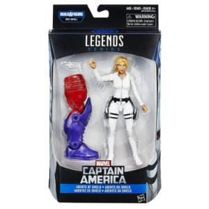 Boneco Marvel Legends Build a Figure Sharon Carter HQ B6355