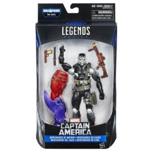 Boneco Marvel Legends Build a Figure Demolition Man HQ B6355