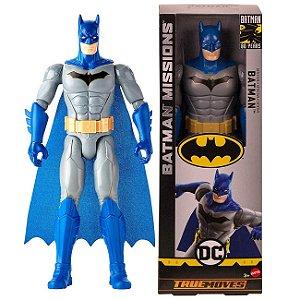 Novo Boneco Batman Missions Detetive de 30cm Mattel Fvm69