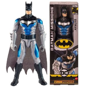 Novo Boneco Batman Missions Traje Sub Zero 30cm Mattel Fvm69