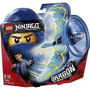 Lego Ninjago Jay Mestre Dragao Lançador com 92 Peças 70646