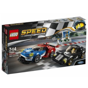 Lego Speed Champions Ford GT 2016 e Ford GT40 1966 75881