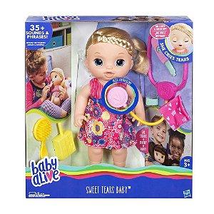 Brinquedo Baby Alive Doces Lágrimas Hasbro C0957