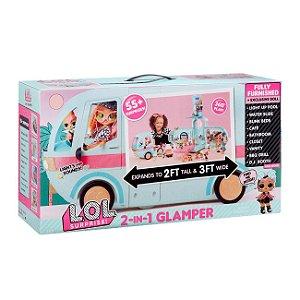Brinquedo Veiculo Lol Surprise 2 em 1 Glamper Candide 8927