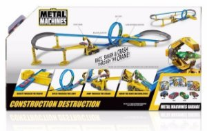 Brinquedo Pista Metal Machines Construction Destruction