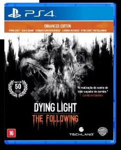 Jogo Mída Física Dying Light Following Enhanced Edition Ps4