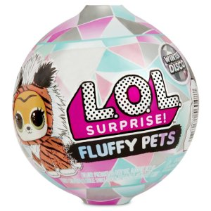 Boneca Lol Surprise Fluffy Pets com 9 Surpresas Candide 8929
