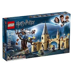 Brinquedo Lego Salgueiro Lutador de Hogwarts 75953 753 Peças