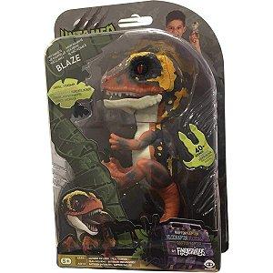 Figura Untamed Dinossauro Interativo Surpresa Candide 3617
