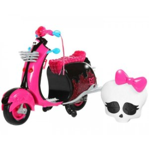 Veiculo Moto Controle Remoto Monstercycle Monster High 4049