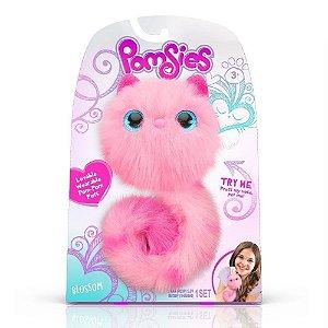 Brinquedo Pelucia Interativa Pomsies Surpresa Candide 4460