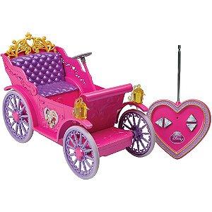 Veiculo de Controle Remoto Carruagem Magica Princesas 5450