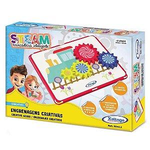Brinquedo Jogo Steam Engrenagens Criativas da Xalingo 50443
