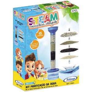 Brinquedo Steam Kit de Purificaçao da Agua da Xalingo 11609