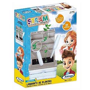 Brinquedo Educativo Steam Labirinto de Plantas Xalingo 11532
