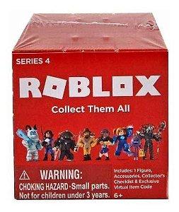 Brinquedo Blocos Boneco Roblox Cubo Surpresa Série 4 10782