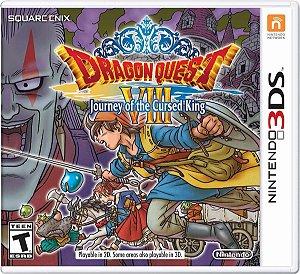 Jogo Mídia Física Dragon Quest Viii Original Nintendo 3ds