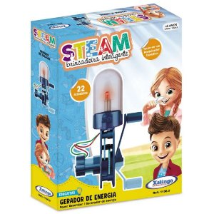 Brinquedo Educativo Steam Gerador de Energia Xalingo 11565
