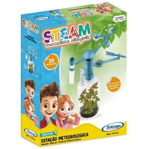 Brinquedo Educativo Steam Kit Estaçao Meteorologica 11576