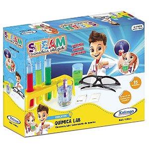 Brinquedo Educativo Steam Quimica Lab com Acessorios 11621