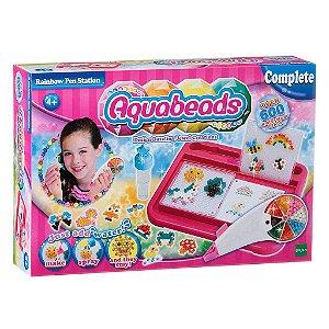 Brinquedo Aquabeads Estaçao Caneta Arco Iris da Epoch 30618