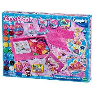 Brinquedo Aquabeads Conjunto Charme e Elegancia Epoch 31509