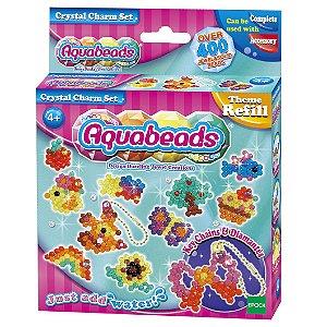 Brinquedo Aquabeads Conjunto Crystal Charm Set Epoch 79288