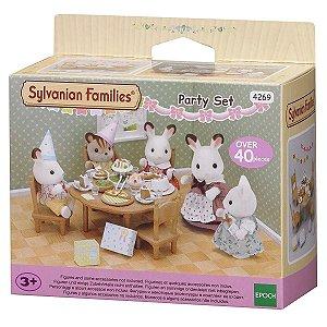 Brinquedo Sylvanian Families Conjunto de Festa Epoch 4269