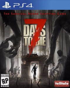 Jogo Novo 7 Days To Die Playstation Ps4 Game Telltale