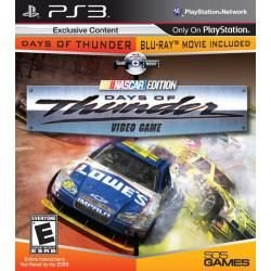 Jogo + Filme Days Of Thunder Nascar Edition Ps3 Americano