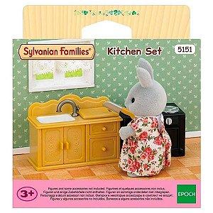 Sylvanian Families Brinquedo Conjunto Cozinha da Epoch 5151