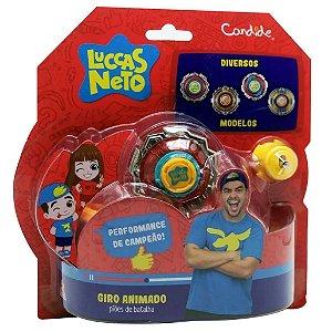 Brinquedo Piao Giro Animado Luccas Neto Sortido Candide 3707