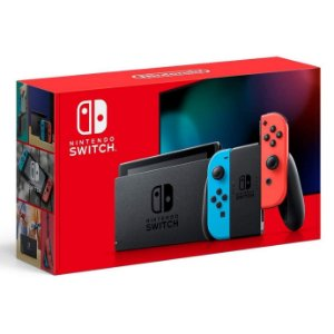 Console Video Game Nintendo Switch de 32 Gb Neon Red e Blue