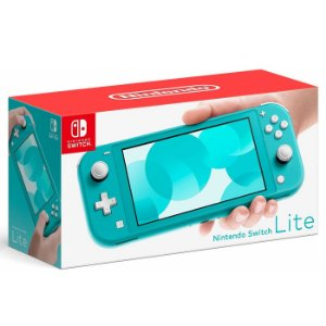 Console Video Game Nintendo Switch Lite 32 Gb Cor Turquesa