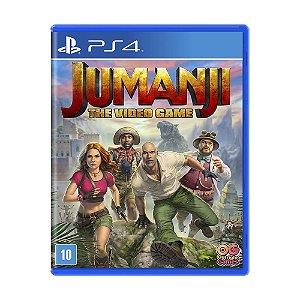Novo Jogo Mídia Física Jumanji The Video Game Para Ps4