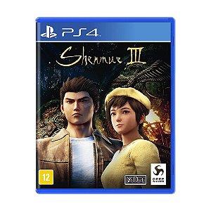 Jogo Novo Mídia Física Shenmue III 3 Para Playstation 4