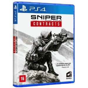 Jogo Mídia Física Sniper Ghost Warrior Contracts Para Ps4
