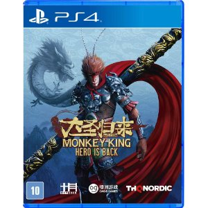 Jogo Midia Fisica Monkey King Hero is Back Original para Ps4