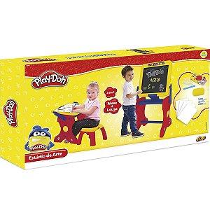 Brinquedo Massinha Play Doh Estudio de Arte 2 em 1 Fun 84283