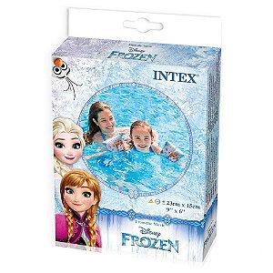 Boia Infantil de Braço Flutuador Frozen de Luxo Intex 56640