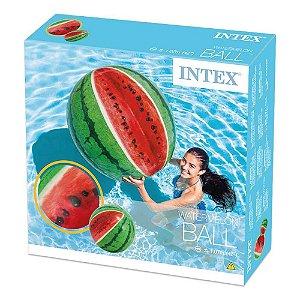 Boia Inflavel Bola de Praia Melancia Verde 107cm Intex 58075