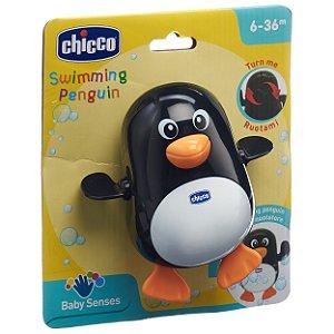Brinquedo Infantil Pinguim Nadador Eletronico Chicco 52513