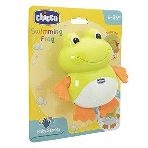 Brinquedo Infantil Sapinho Nadador Eletronico Chicco 52513
