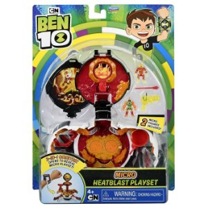 Brinquedo Ben 10 Micro Omnitrix Chama Playset 2 em 1 1797