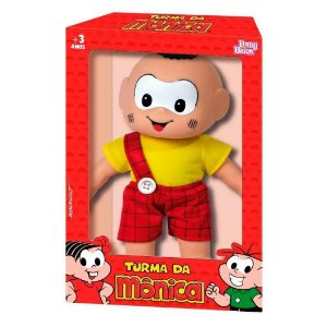 Boneco Turma da Monica Classicos Cascao da Baby Brink 1028