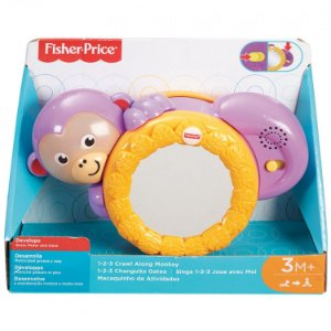 Brinquedo Bebe Macaquinho de Atividades Fisher Price Fhf75